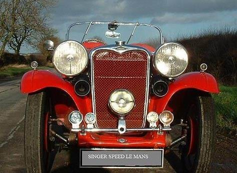 SINGER - Le Mans Speed Special - 1935