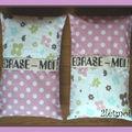 Coussin rectangle ECRASE-MOI !