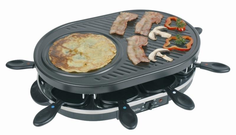 Russel Hobbs QUATUOR gril + raclette + crêpe
