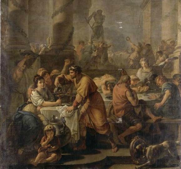 peinture l'hiver ou les saturnales 1783