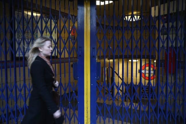 Tube strike london 2014_10