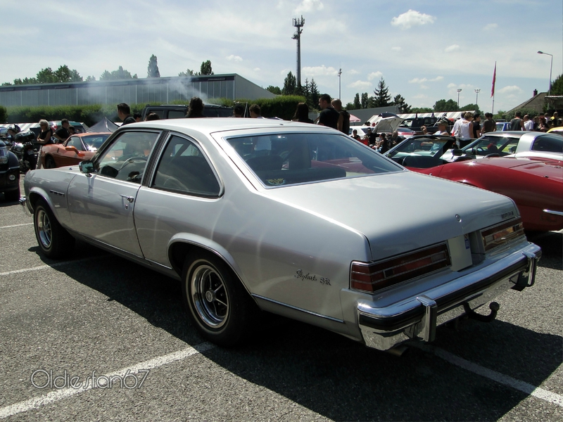 buick skylark sr 3door hatchback coupe 1976 b