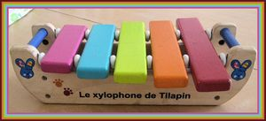 trouvailles 1er mai xylophone
