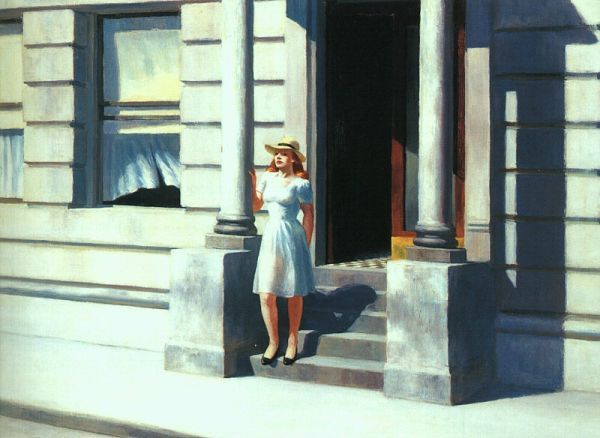 Edward Hopper Summertime 1943