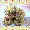 Cookies au m&m's (thermomix ou non)