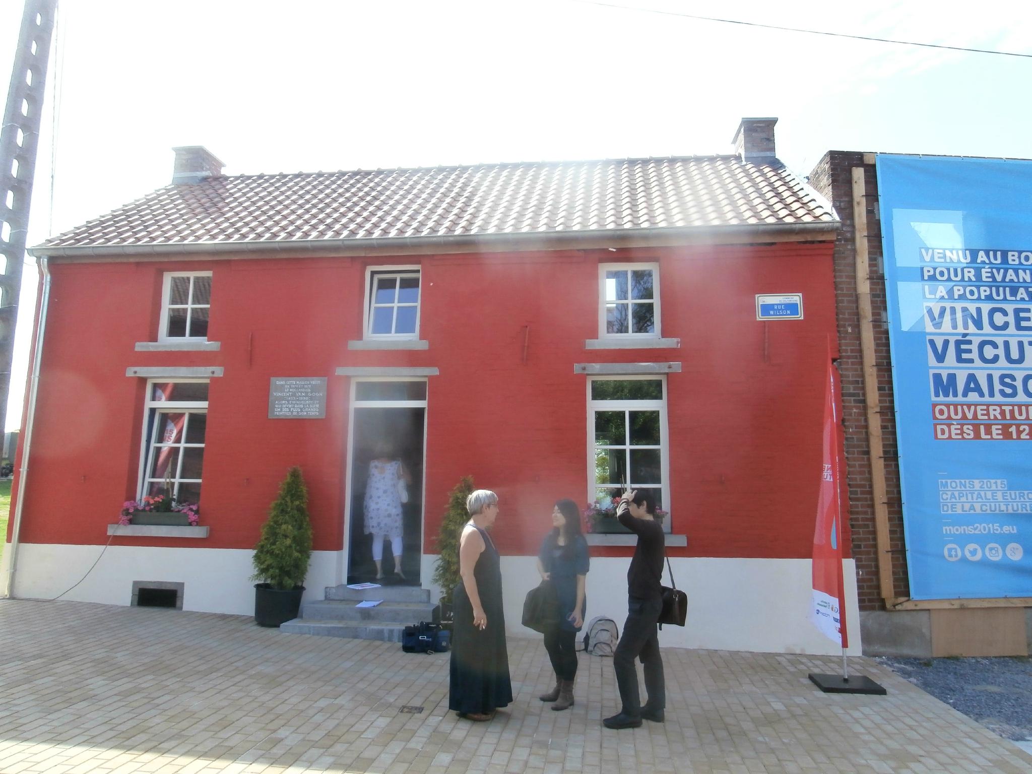 Wasmes : Maison Van Gogh : inauguration boutique / art shop