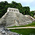Le temple des inscriptions - Palenque