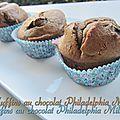 Muffins au chocolat philadelphia milka