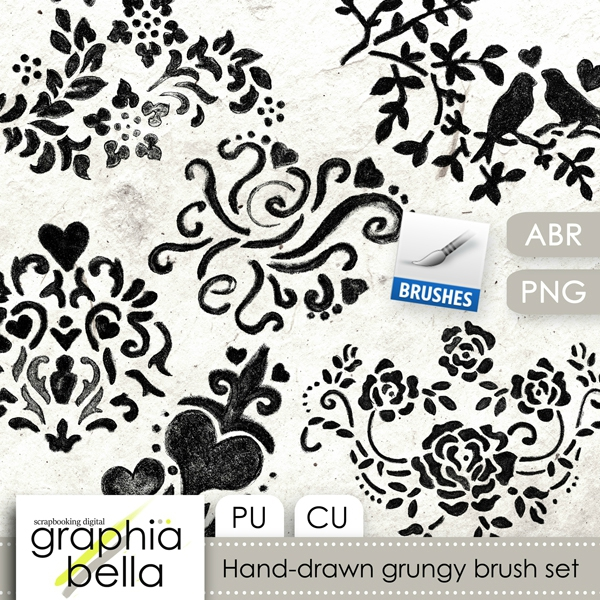 GB_Hand_drawn_grungy_doodle_set_pv