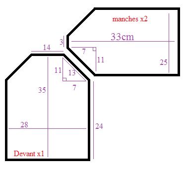 bavoir manches longue le monde de c l naa. Black Bedroom Furniture Sets. Home Design Ideas