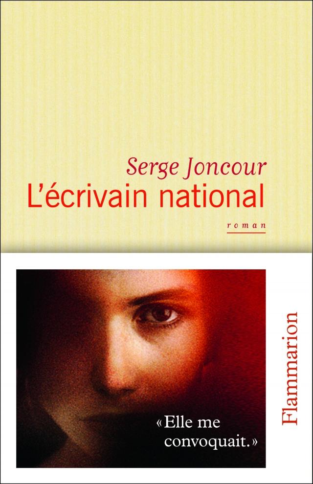 L'ECRIVAIN NATIONAL de Serge Joncour