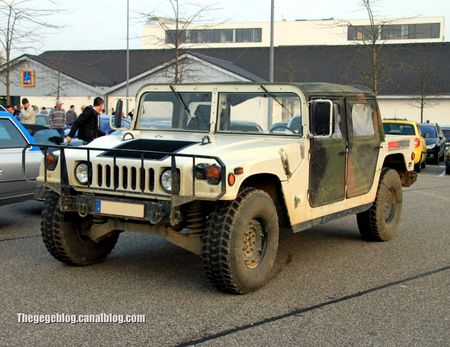 Hummer H1 (Rencard burger king avril 2012) 01