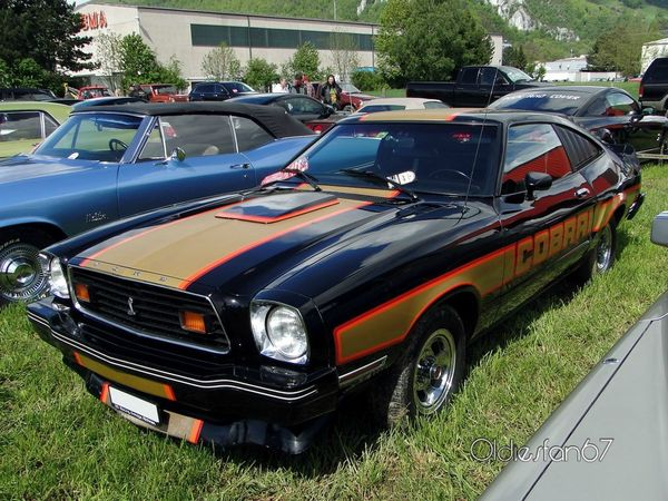 ford mustang II cobra II hatchback coupe 1978 a