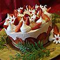 cheescake fraisier (sans cuisson)