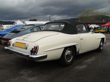 MERCEDES BENZ 190 SL Convertible 1954 1963 Bourse Echanges de Vagney 2010 2