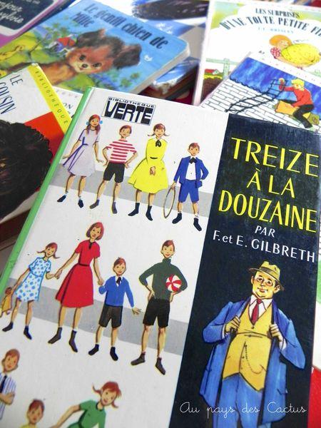 Trouvailles vide greniers pomme hermès livres vintage Au pays des Cactus 5