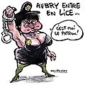 Martine Aubry, encore dans Zlium...