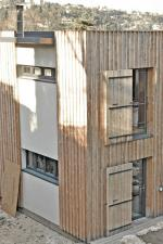 maison bois façade sud ouest