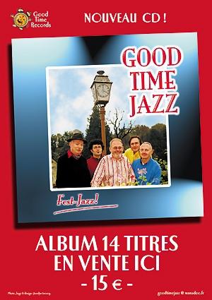 Affichette PLV : Good Time Jazz - 1er album