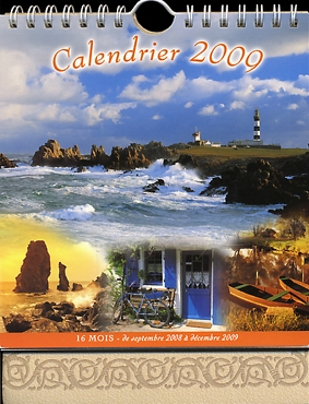 Calendrier 2009 : photo Port-Coton - éd.YCA