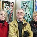 Saint-Rémy-sur-Avres avec Jeanne, Horst et Colette.