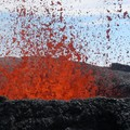 eruption cratere dolomieu