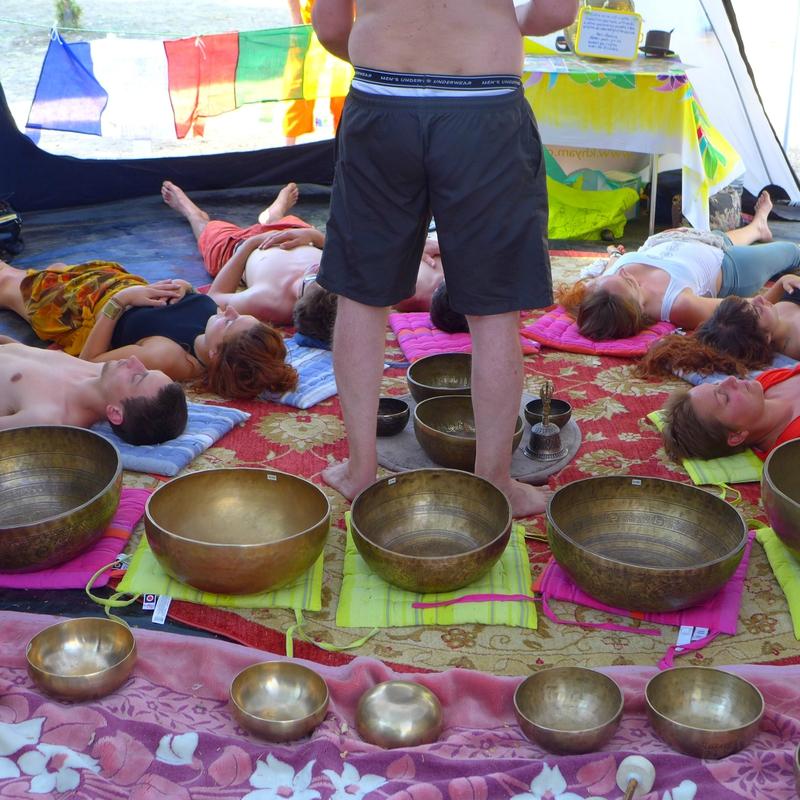 scéance de bols tibétains
