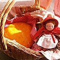 La recette de la galette du petit chaperon rouge
