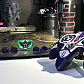 Part2/2 relique n64 custom zelda + manette(s) majora's mask