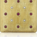 Buccellati. a ruby, diamond and gold vanity case