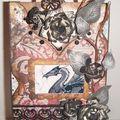 2010-Carte avec un dragon oriental gothique