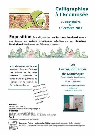 Expo calligraphie 09 2011