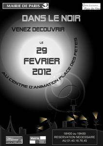 affiche 29 février- version 1 Noir et Blanc! copie