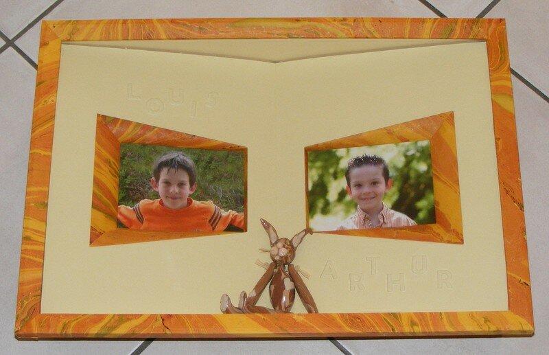 Mes enfants, Louis et Arthur