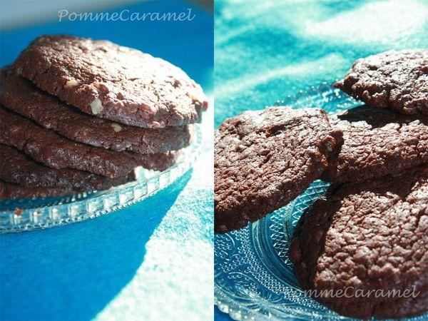 Cookies tout choco aux flocon avoine