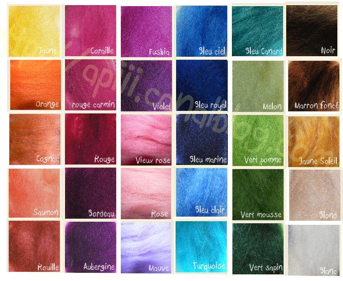 Ma palette couleurs api cr ations originales v tements bijoux accessoires dreads atebas - Palette de couleur html ...