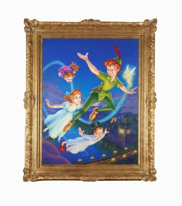 peter pan display