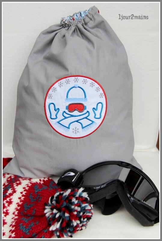 sac affaire ski lucas