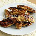 Aiguillettes de poulet- quand tzek cuisine