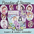 Challenge de paradise of stamps