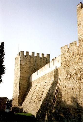 Lisbonne-château Sao Jorge
