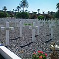Le cimetière européen de marrakech et son carré militaire - 8 mai 1945