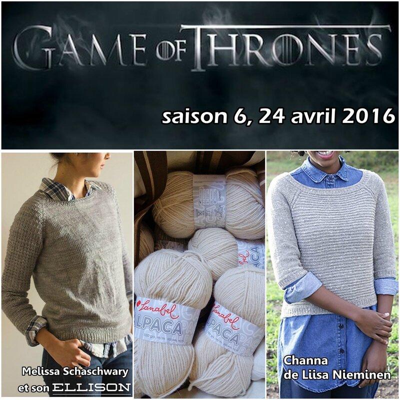 GoT et tricot