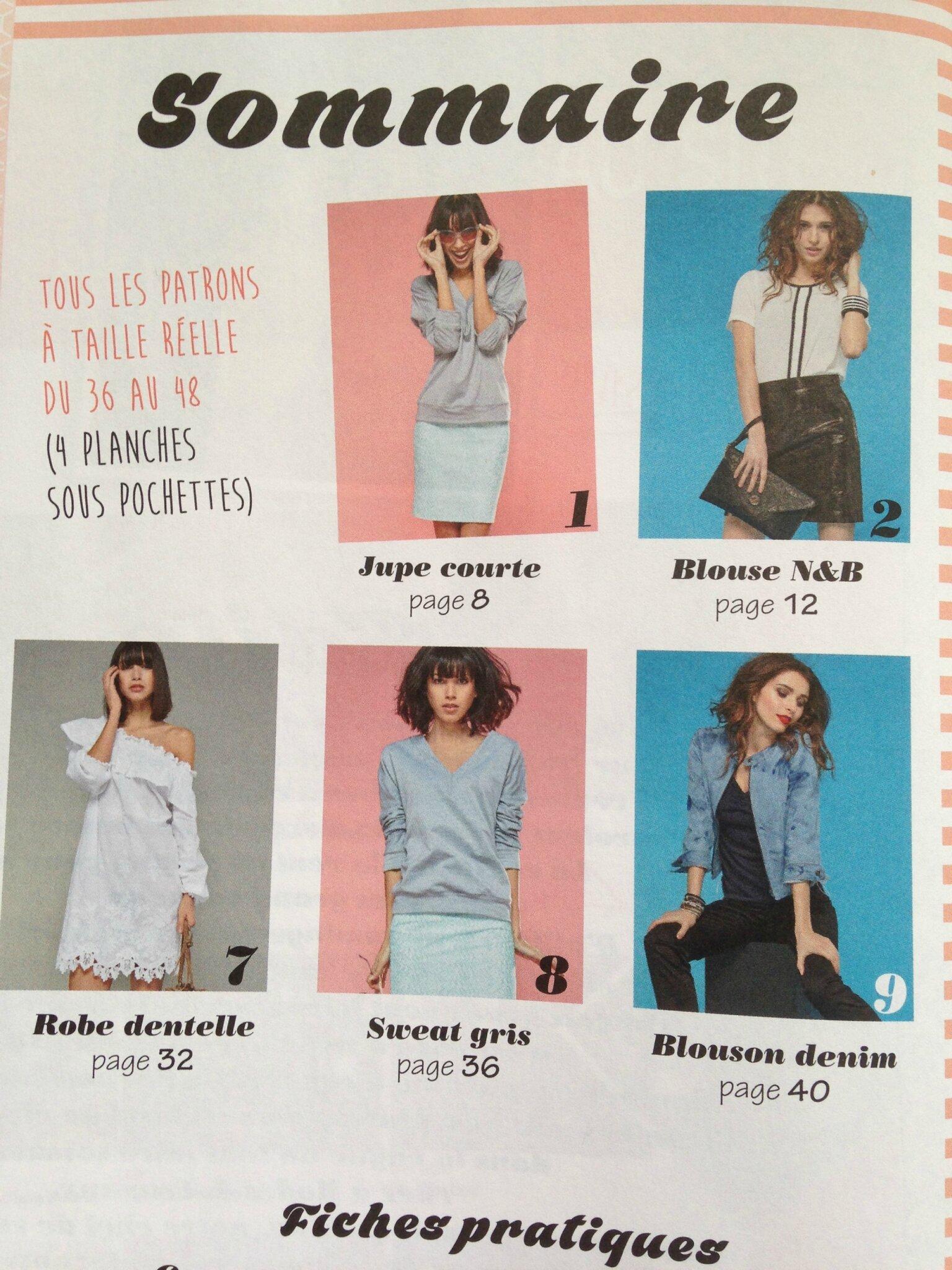 Hors série Mode et travaux spécial couture