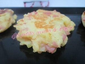 Galettes de pommes de terre au jambon22