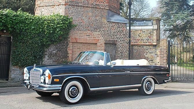 1965 Mercedes-Benz 250SE Convertible