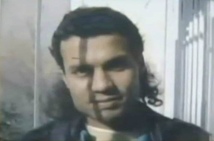 Farid Berrahma au début des années 90