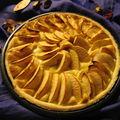 Tarte aux pommes et crème frangipane