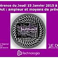 Conférence à nice le 15 janvier 2015 - le burn-out :