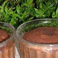 Moelleux vapeur trés chocolat sans beurre